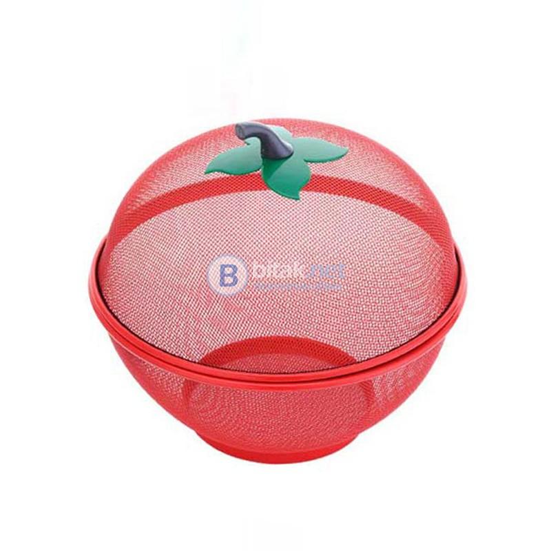 Метален Панер Купа За Плодове И Зеленчуци ВъВ Формата На Ябълка