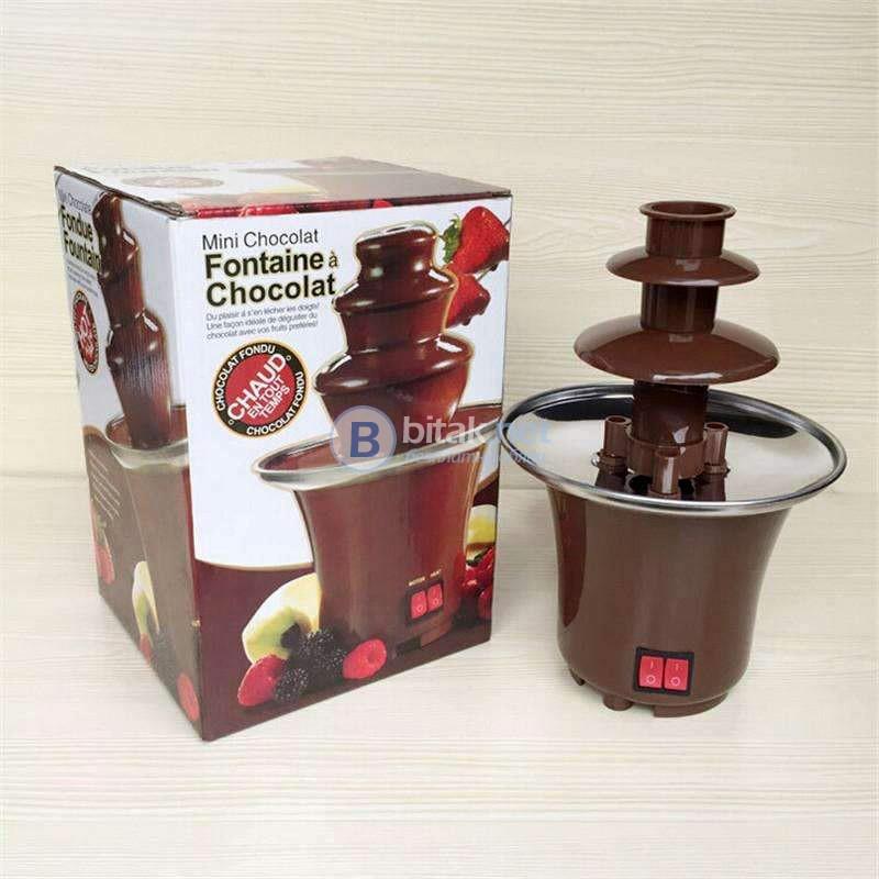 Мини фонтан за шоколад фондю шоколадово дърво за парти кетъринг
