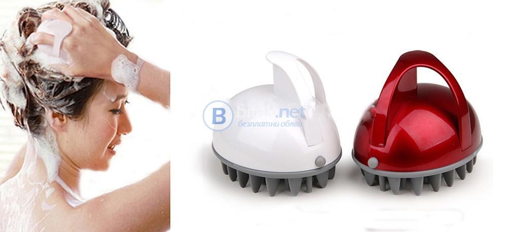 Електрически масажор за скалп