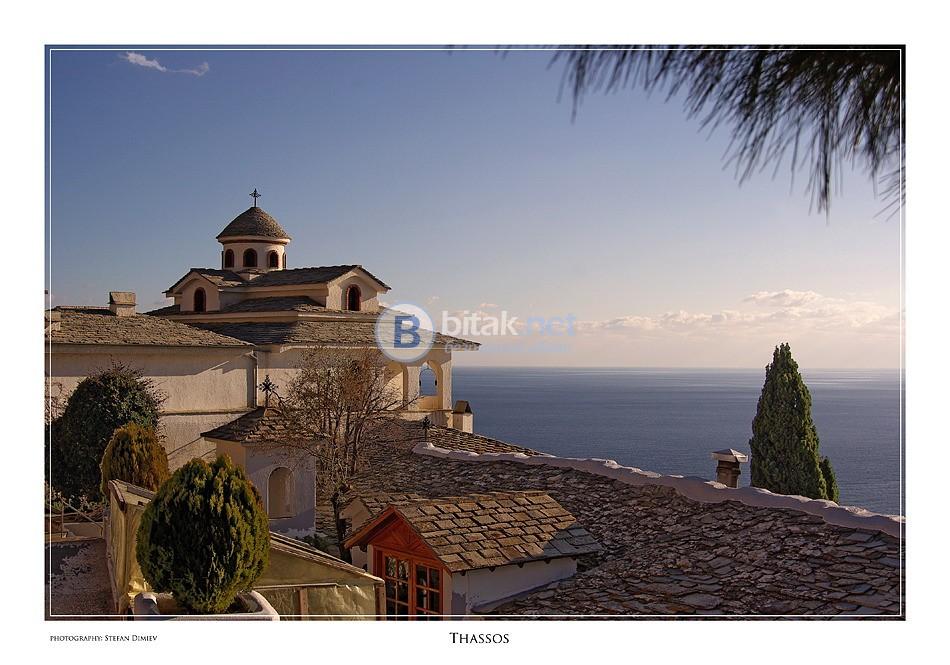 Остров Тасос - есенно слънце, маслини и узо, от Варна и Бругас
