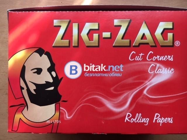 Червен ZIG-ZAG