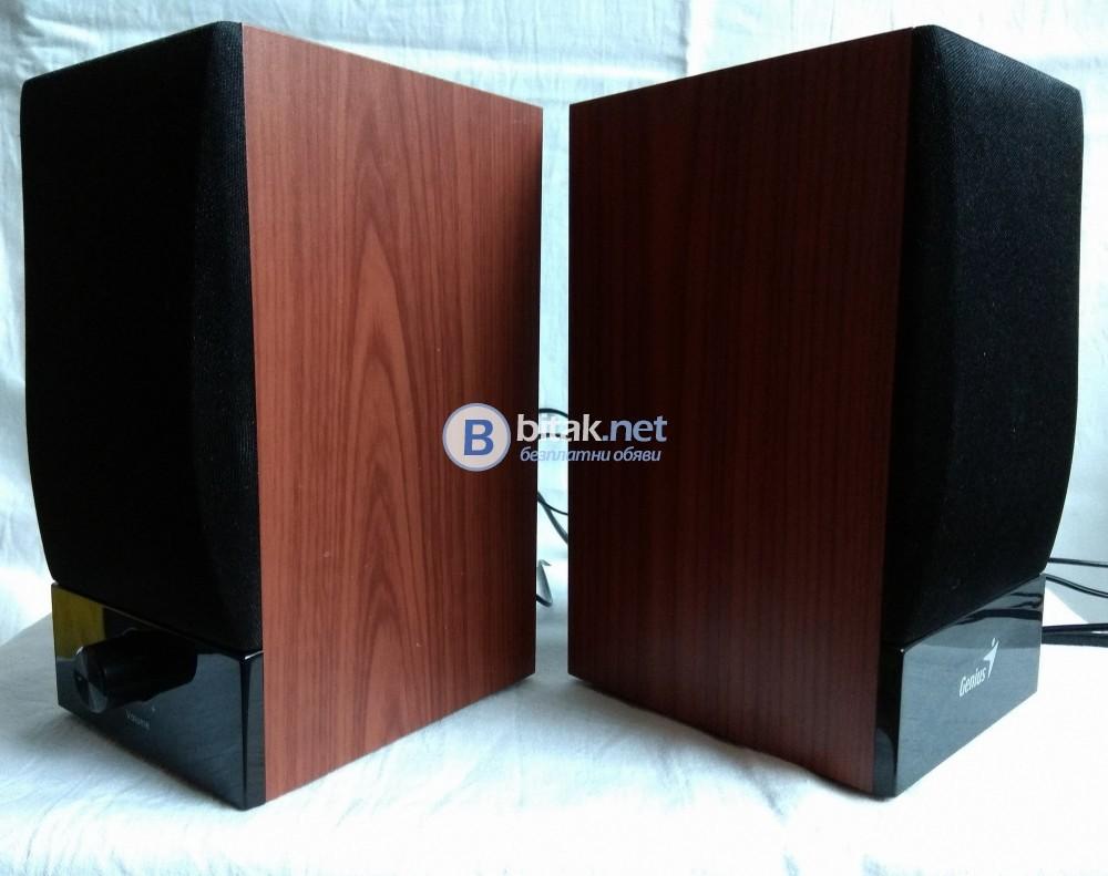 Genius SP-HF360B, активни тонколонки за вашият PC, лаптоп, телефон, таблет, MP3 плеър и т.н.