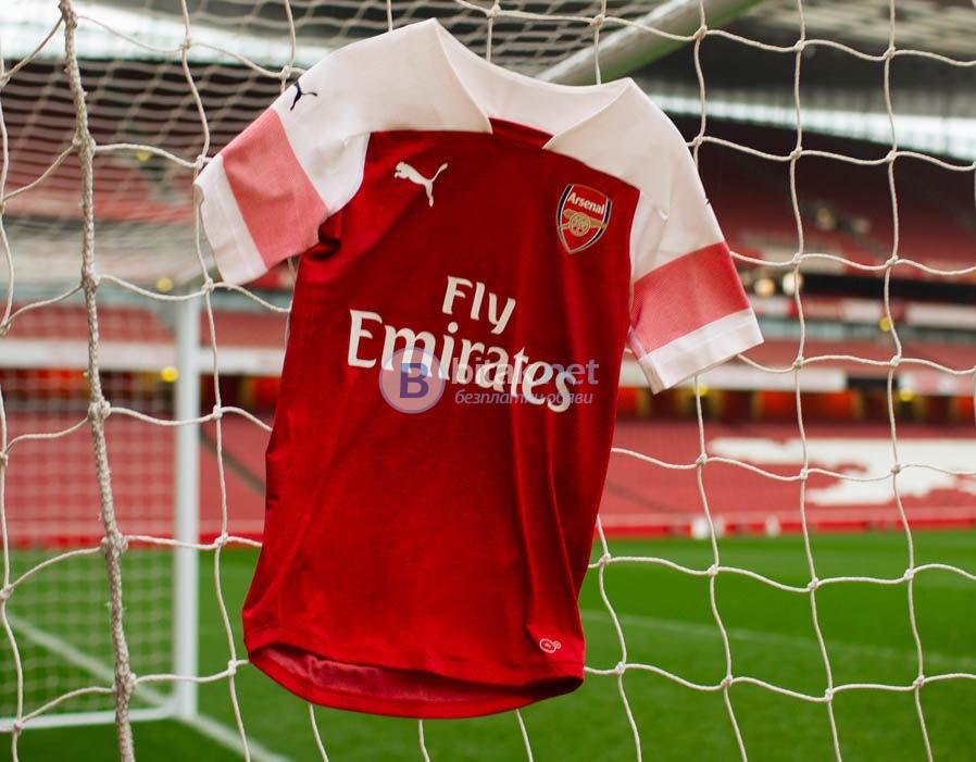 Арсенал титулярни екипи PUMA - нов сеозн 2018/2019