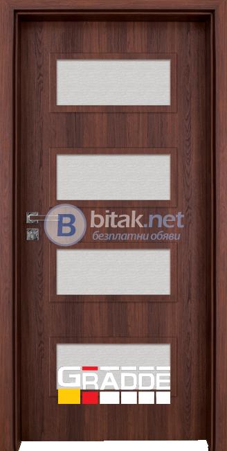Вътрешна врата Gradde Blomendal