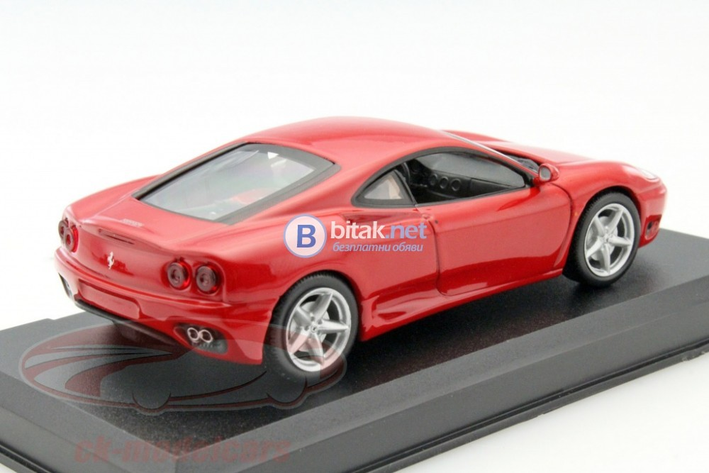 Ferrari 360 Modena Year 1999-2005 red 1:43