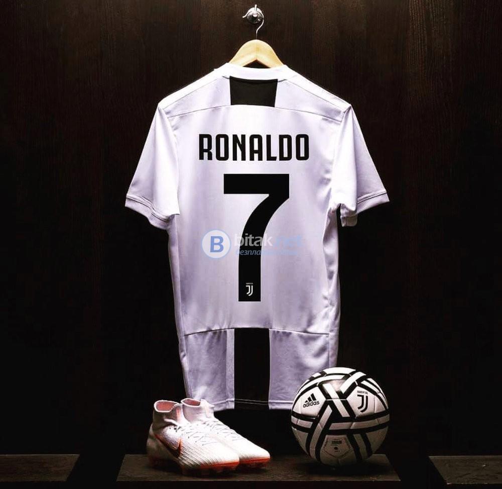 Роналдо екипи Ювентус нов сезон 2018/19 - Adidas ClimaLite