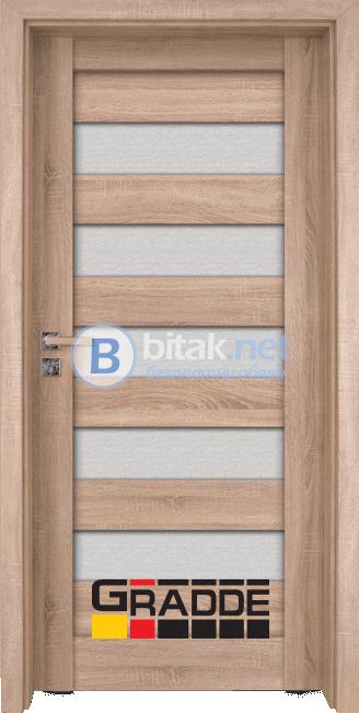 Интериорна врата Gradde Aaven Glas, Graddex Klasse A