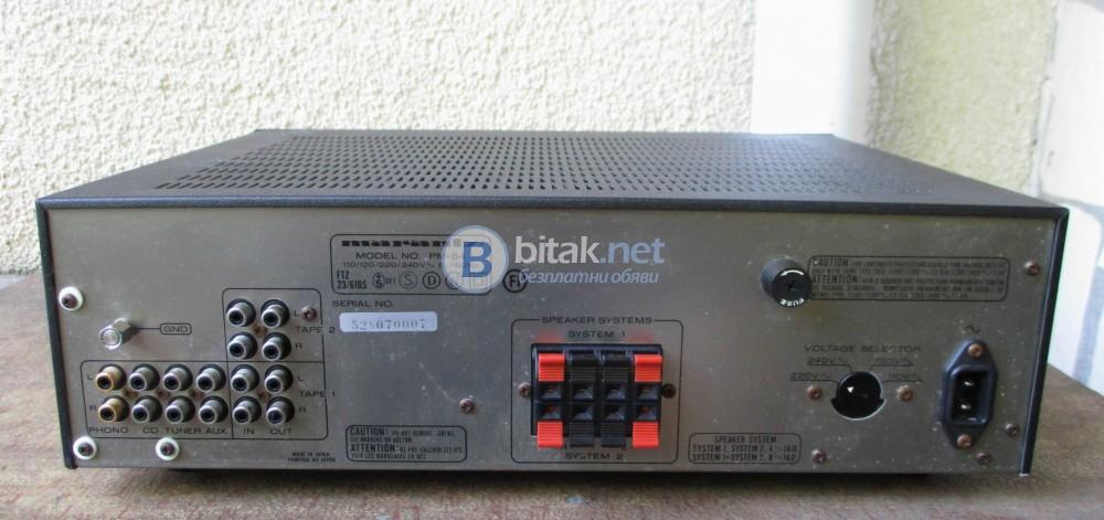 MARANTZ PM 54 – Качествен транзисторен стерео усилвател.
