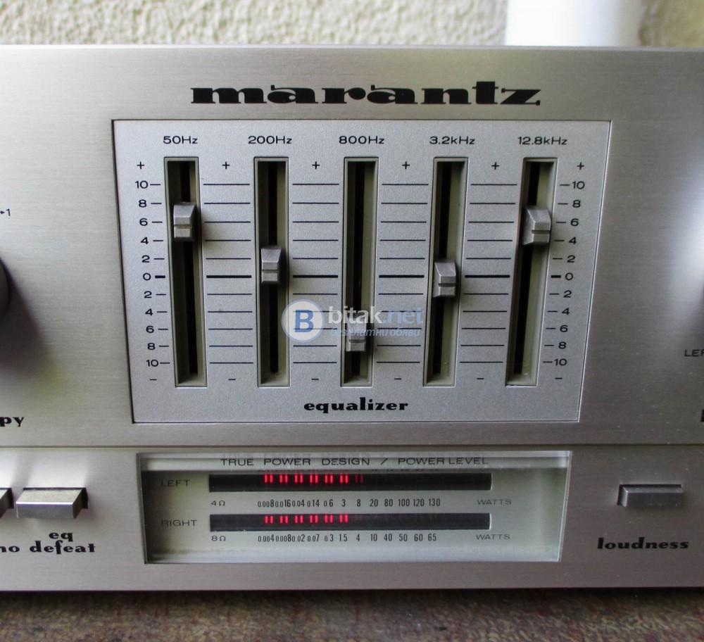 MARANTZ PM 500 – Класика на фирмата. Мощен 2 Х 50 вата на 8 ома.