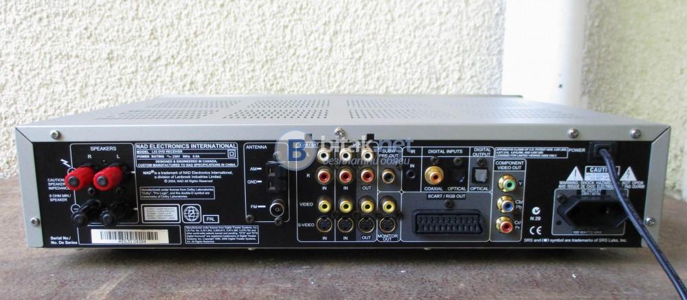 NAD L-53 – Транзисторен СД ресивър,чудесен компонент три в едно.