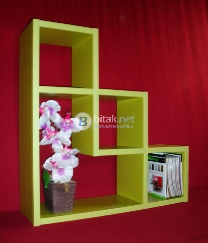 Етажерка за стена - Зелено Верде