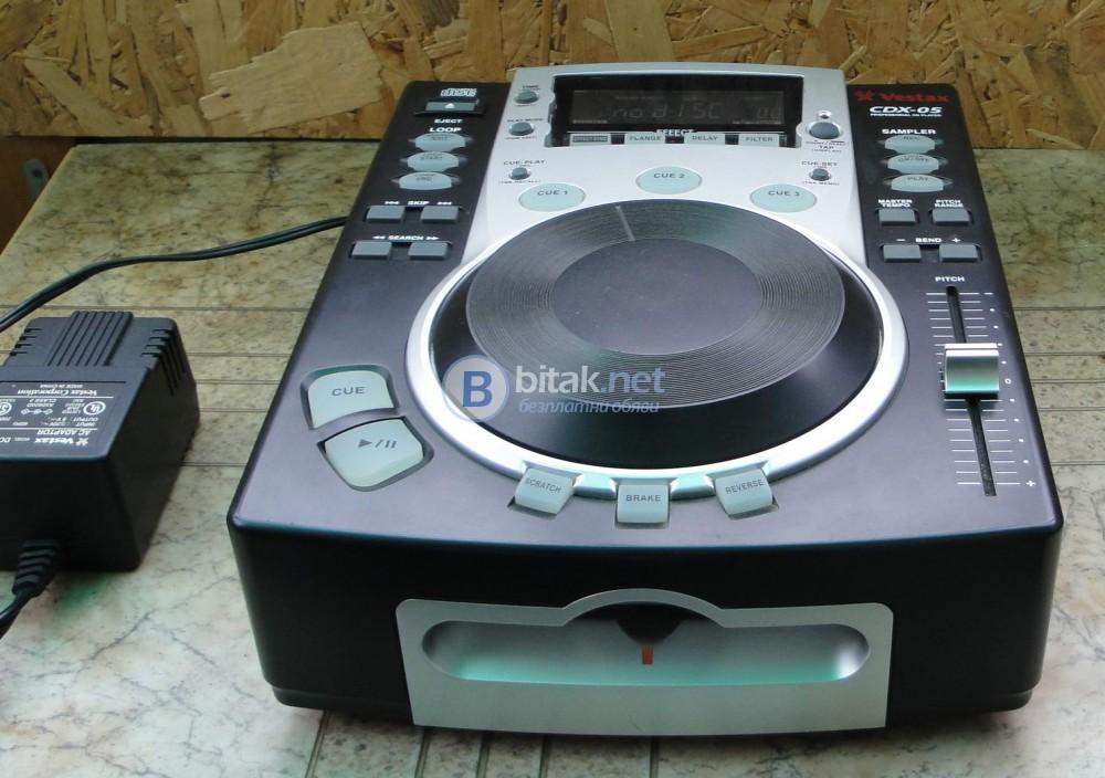 VESTAX CDX-05 – DJ.плейър в отлично състояние.