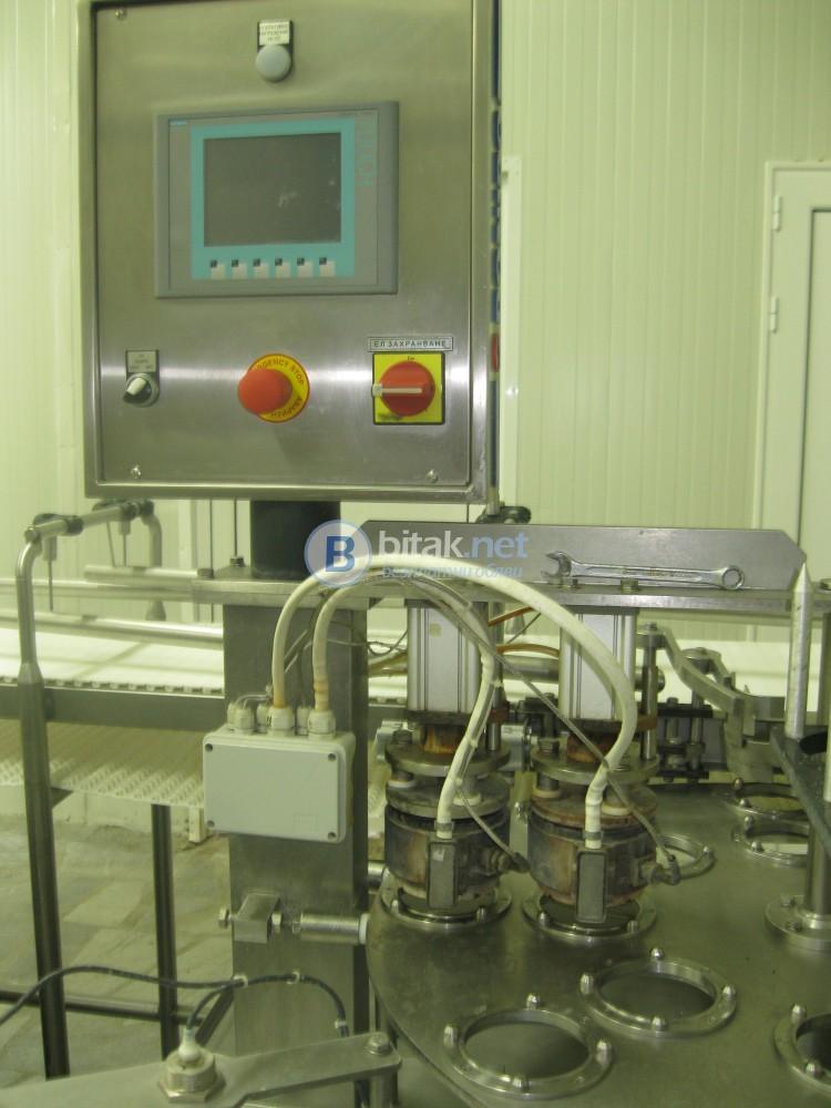 3 бр. модул за пакетиране на кисело мляко