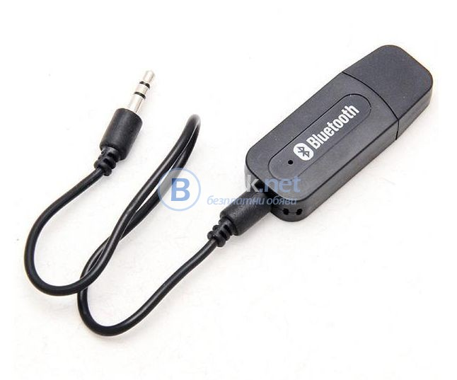USB Bluetooth AUX приемник - Music Receive с 3.5 мм. стерео аудио жак