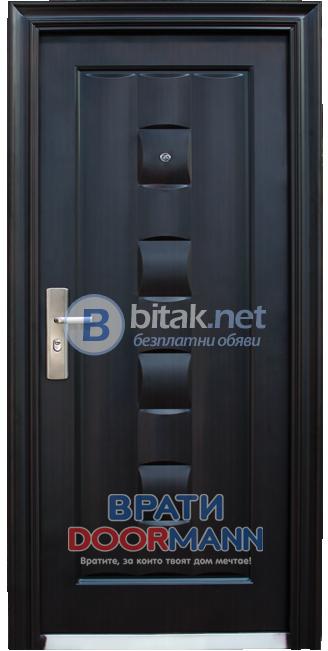 Метална входна врата