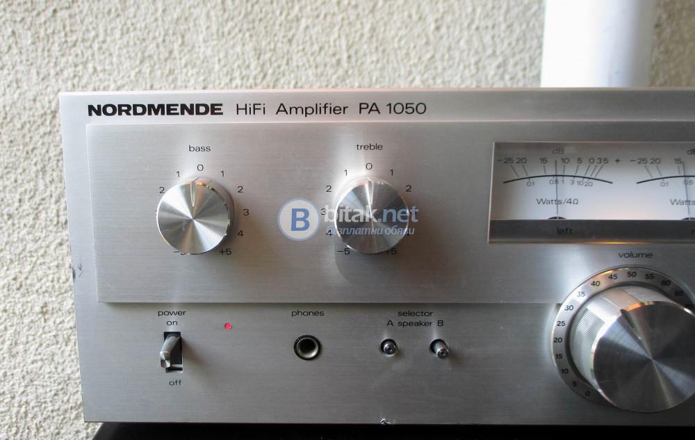 NORDMENDE PA-1050 – Колекционерски красавец от серията philharmonic hifi system.