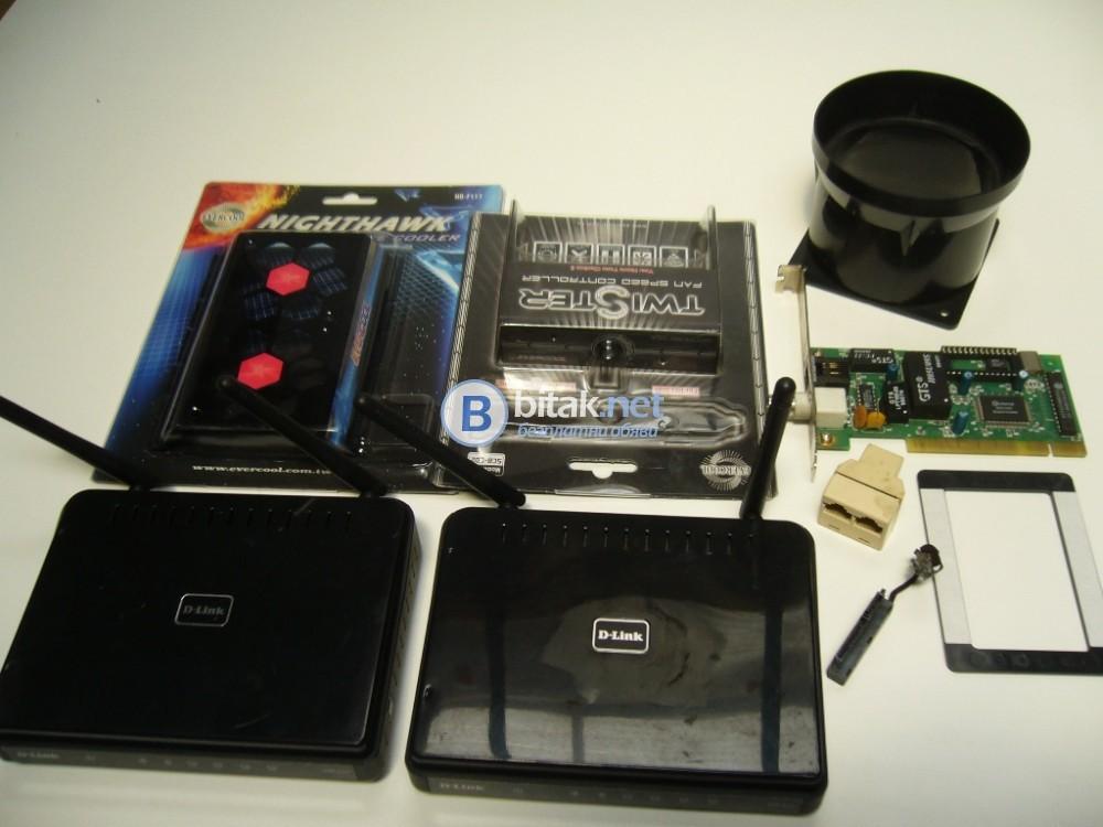 Компютърни аксесоари, 2 router Dlink