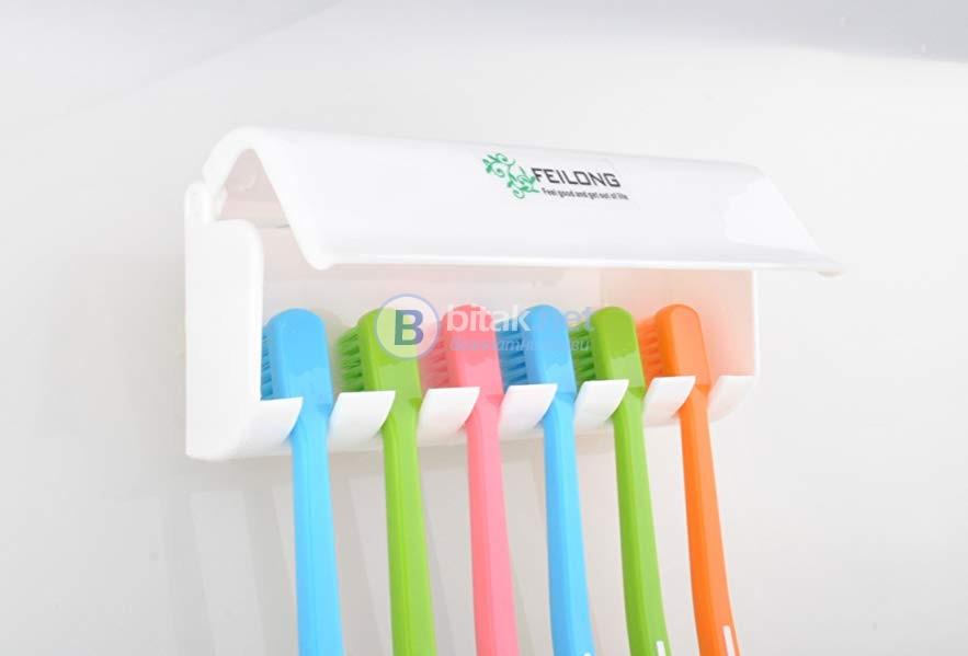 Поставка за четки за зъби Hook Brush Hanger