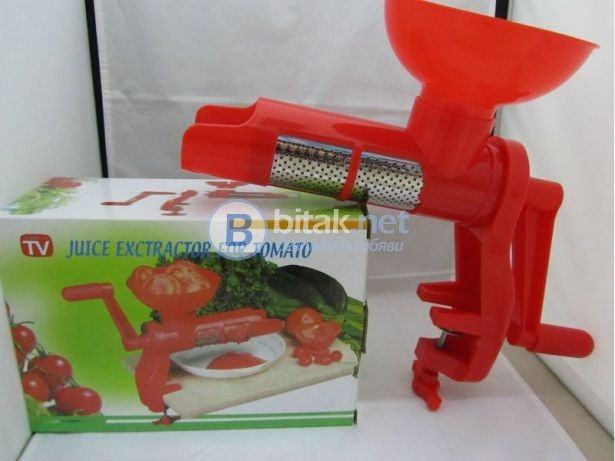Мелачка за домати машинка за приготвяне на доматен сок и лютеница