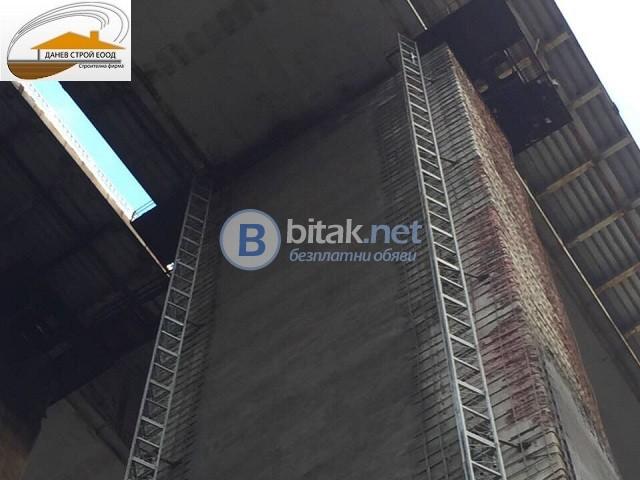 Торкрет бетон за саниране на стоманобетонни конструкции