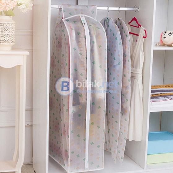 Голям калъф за съхранение на няколко закачалки с дрехи органайзер за гардероб