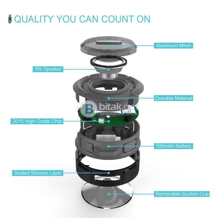 Bluetooth 3.0 водоустойчиви мими колонки на супер цена