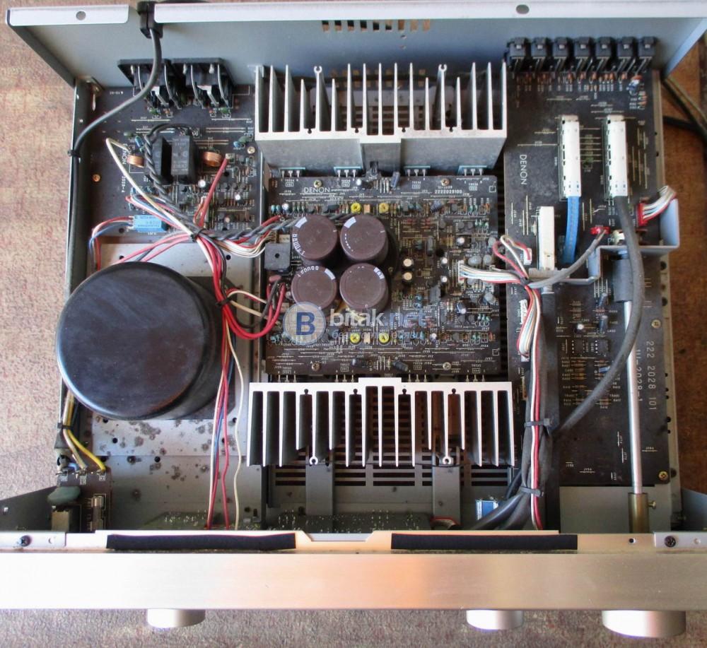 DENON PMA-860 – Транзисторен стереоусилвател,шампански красавец от серията прецизен аудио компонент.