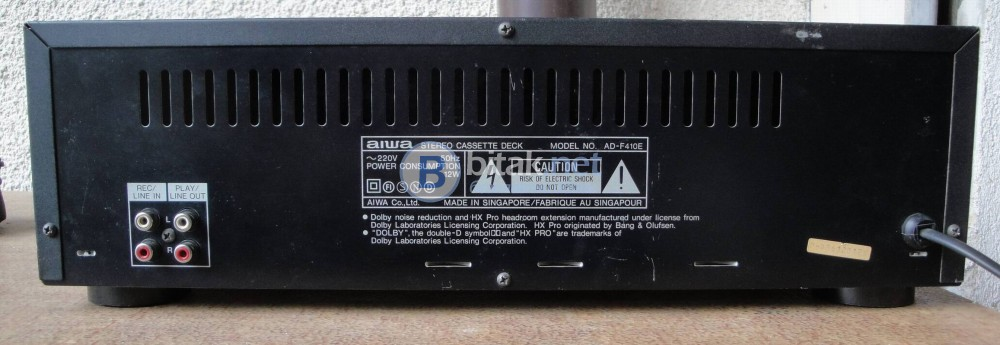 AIWA AD-F410 – Двуглав касетен дек.
