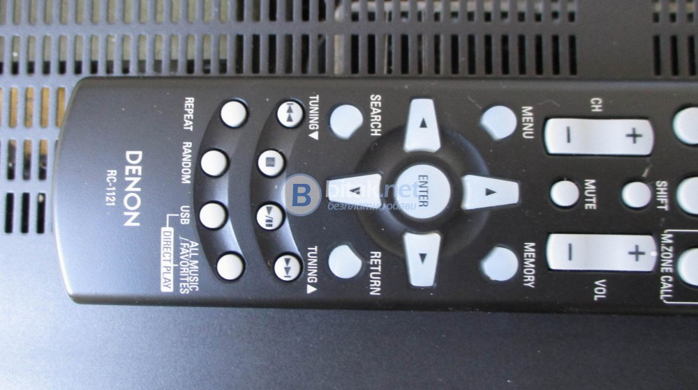 DENON RC1121 – Дистанционно за кино ресивър,видимо неразличимо от ново.