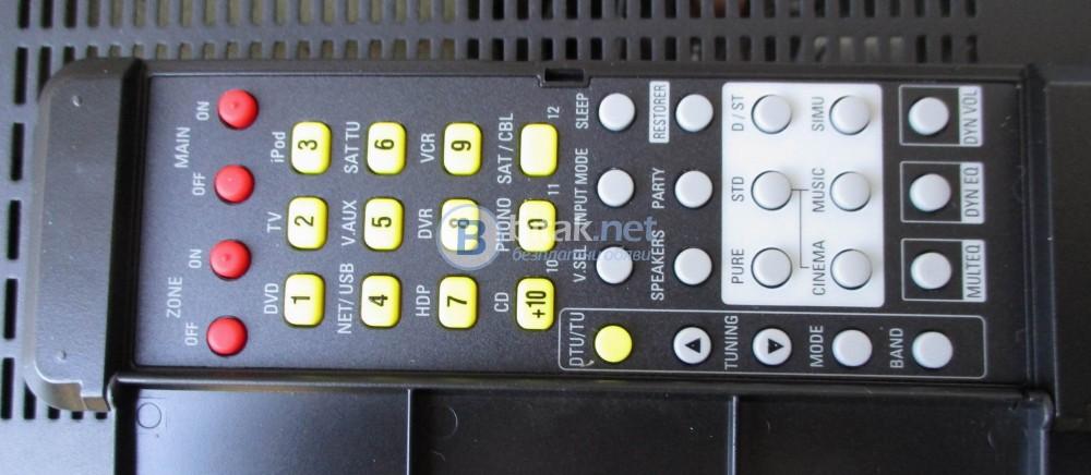 DENON RC1118 – Дистанционно за кино ресивър,видимо неразличимо от ново.