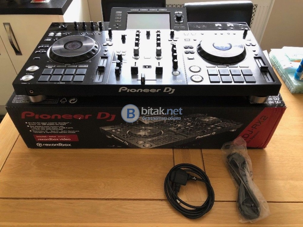 Pioneer DDJ SX3 Serato DJ Pro 600 EUR, Pioneer XDJ RX2 830 EUR, Pioneer DDJ SX2 400 EUR