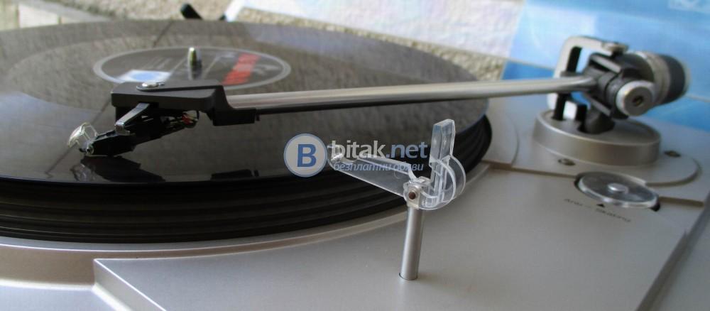 DUAL CS-607 – Качествено грамофонно шаси, директ драйв.