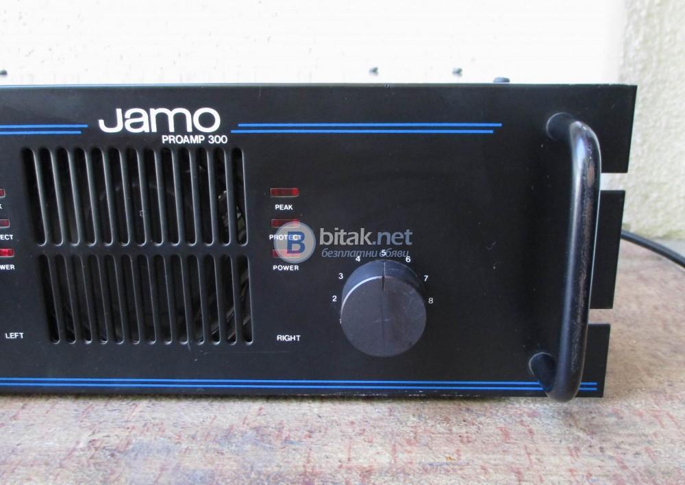 JAMO PROAMP-300 – Качествено мос фет стъпало с по шест крайни на канал.