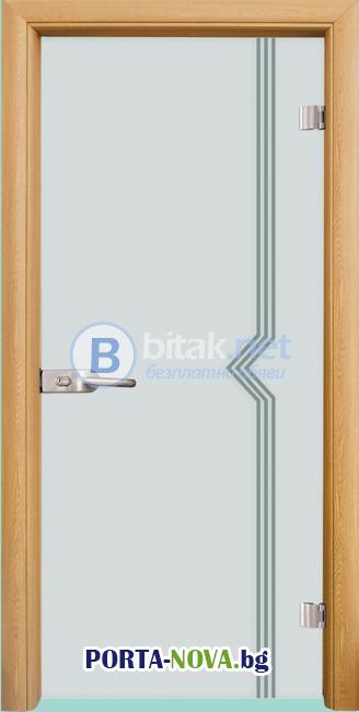 Стъклена интериорна врата, Gravur G 13-3