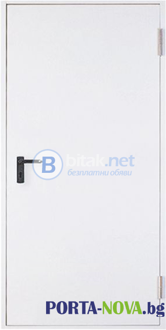 Метална пожароустойчива врата, REI 60  90/205 см