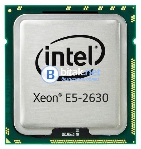 Процесор Xeon 6-ядрен Е5-2630 s.2011, Threads 12
