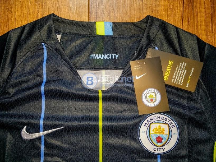 Манчестър Сити гостуващ черен екип НОВ сезон 2018/19