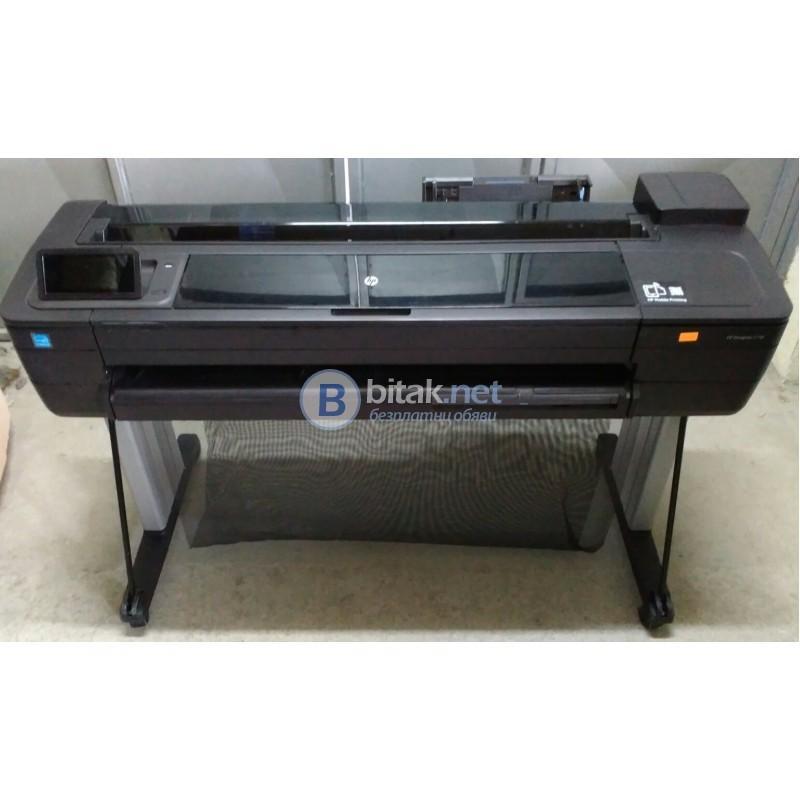 Плотер HP DesignJet T730 Large Format Wireless Plotter Printer