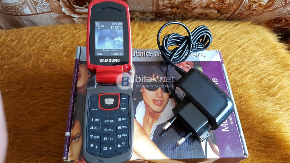 Samsung SGH-E2210B Мобилен телефон