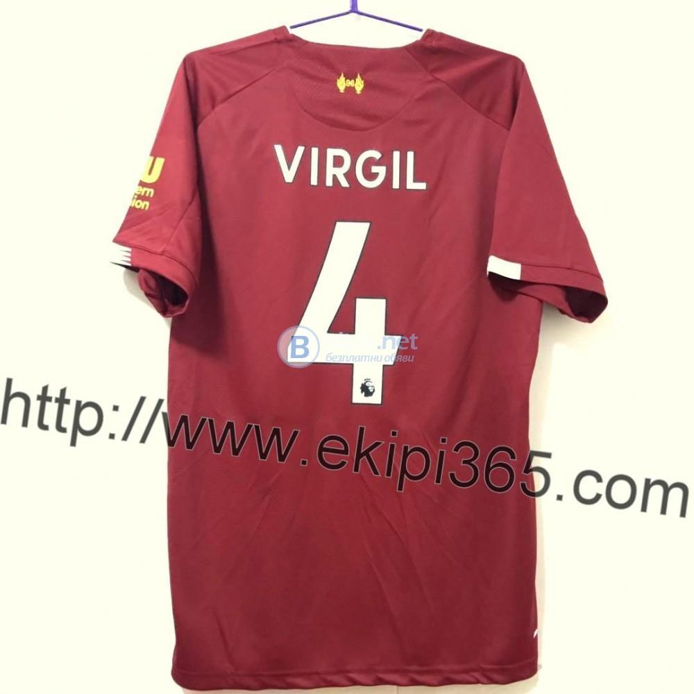 Virgil van Dijk 4 - Титулярна тениска Ливърпул 4