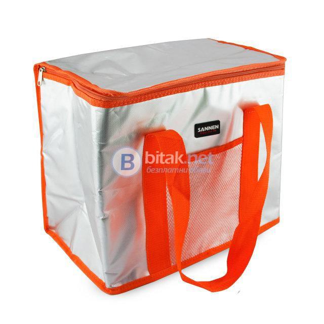 Термо чанта за храна и напитки хладилна чанта за пътуване плаж 8.5L