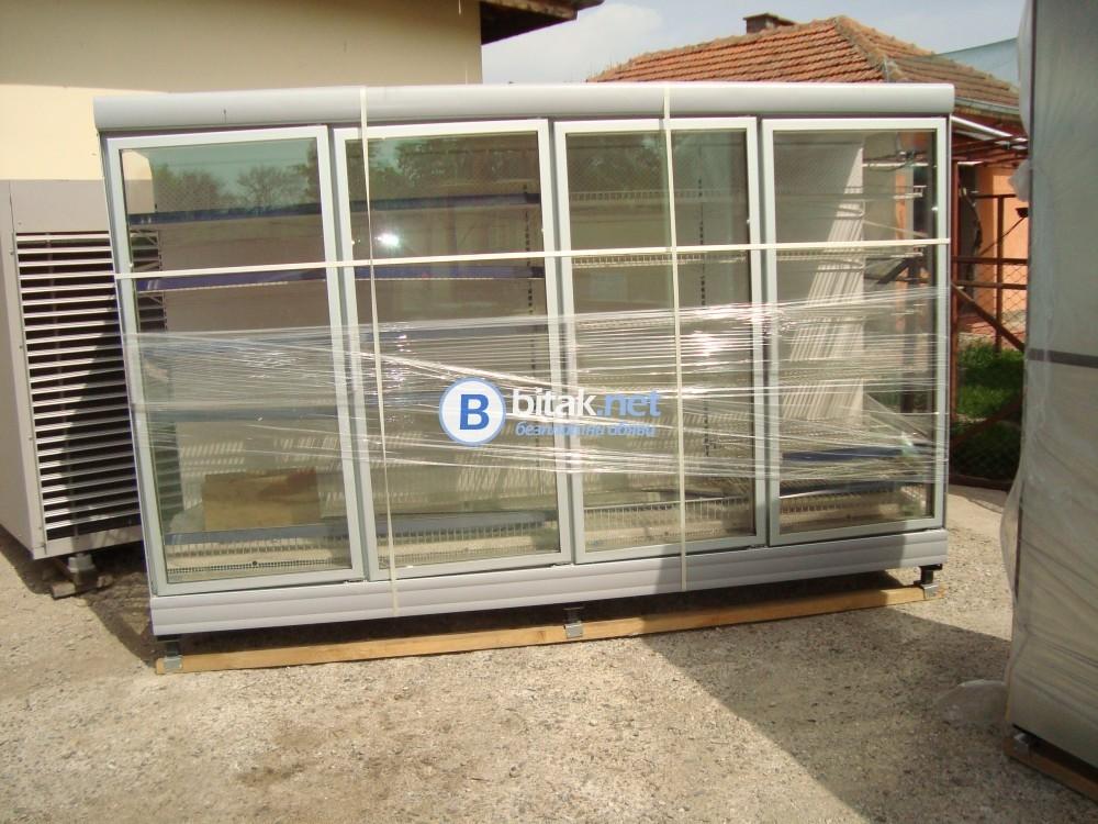 Крайстенни хладилни витрини - нови - минусови