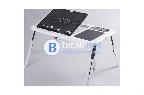 Масичка за лаптоп с 2 вентилатора+usb удължител