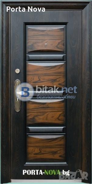 Метална входна врата модел 516