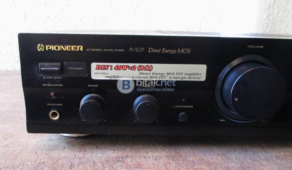 PIONEER A-107 – Direct energi Mos-Fet amplifier.