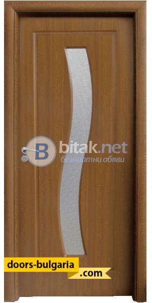 Интериорна врата модел 066, цвят Светъл дъб