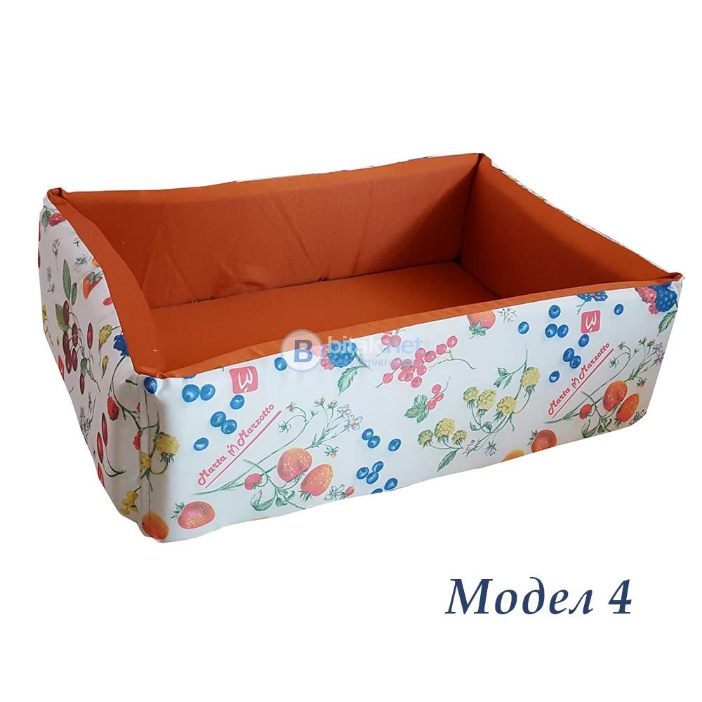 Легло за домашни любимци легло за куче котка правоъгълна форма