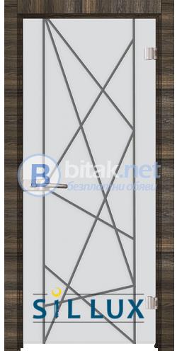 Стъклена интериорна врата Sand G 13-5