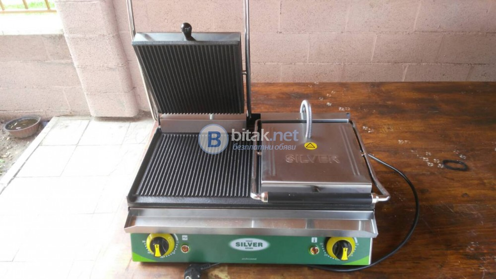 Тостер,Професионална Електрическа Двойна тостер преса
