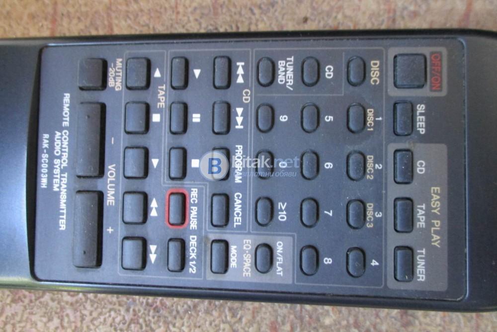 TECHNICS RAK-SC 003WH – Дистанционно за аудио система.